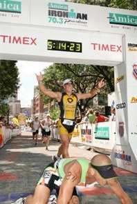 Female overall in a time of 4 56 november 13 ironman 70 3 world